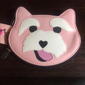 New grandpa dog wallet coin purse Betsey